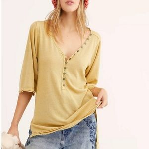 Free People Morgan Henley Top in Alchemy Small
